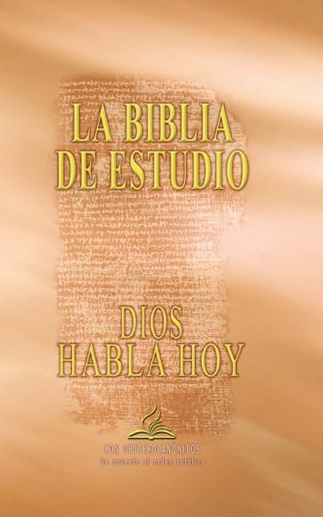 """Biblia de Estudio """"Dios habla hoy"""" con Deuterocanónicos. Edición católica"""