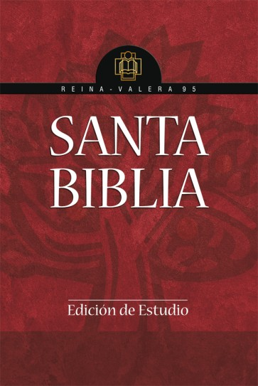 Santa Biblia Reina Valera - 1995. Edición de estudio